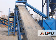 China High Abrasion Resistance Mining Conveyor Systems With High Inclination Angle factory