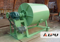China Horizontal Cylindrical Rubber Lined Ceramic Ball Mill for Cement Mining Industry factory