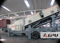 China Mine Jaw Portable Crusher Plant / Mobile Crushing And Screening Plants factory