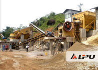 China Customized Rock Crushing Equipment , Complete Stone Crushing And Screening Plant factory