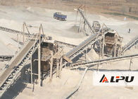 China Automatic 30-500TPH Jaw Crusher Machine For Marble River Gravel factory