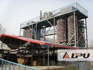 China High Recovery Ore Dressing Plant Spiral Chute Gravity Separator factory