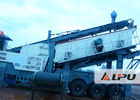 China Flexible Configuration Portable Crusher Plant , Mobile Concrete Crusher factory