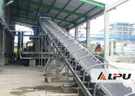 China Long Distance Rubber Belt Mining Conveyor Systems in Stone Crushing Plant factory