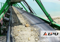 Low Energy Consumption Mining Conveyor Belt Machine , Belt Conveyor Systems