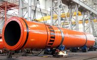 China Slag Dryer rotary drum dryer used in cement slag drying process