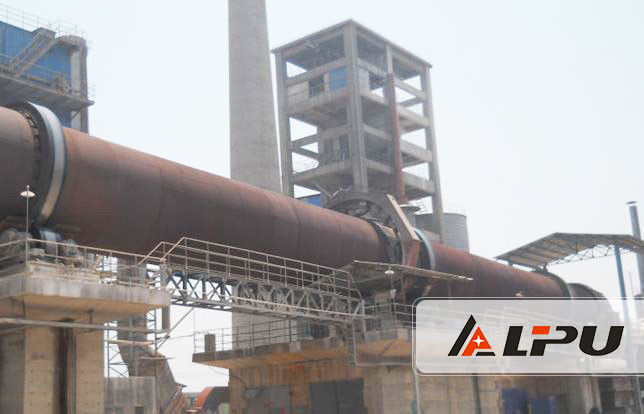 the selection of refractory material rotary