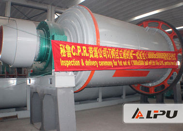 China Grid Type And Overflow Type Ore Slag Ball Mill , Mine Ball Milling Equipment factory
