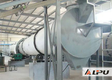 HG2.2×15 Granular Material Industrial rotary dryer Equipment For Drying Chemical Catalyst
