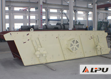 China 18.5kw Low Energy Waste Vibrating Screening Machine For Limestone distributor