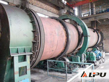 China Energy Saving Calcination Cement Clinker Rotary Kiln In Construction Industry distributor
