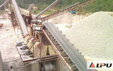 China Copper Ore Mining Conveyor Systems / Coal Mine Conveyor Belt Systems distributor