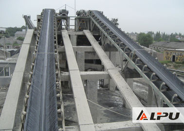 China Material Handling Belt Conveyor / Mining Conveyor Systems Convenient Operation distributor