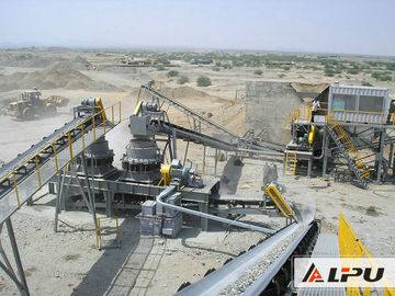 China Efficient Basalt Stone Jaw Crushing Plant , Quarry Crushing Equipment distributor