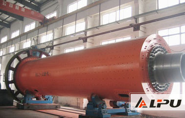 China Cement Grinding Machine / Clinker Grinding Ball Mill Driven By Brim Gearwheel factory