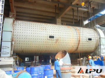 China 2100×7000 High Working Efficiency Cement Horizontal Ball Mill , Building Material Rod Mill factory
