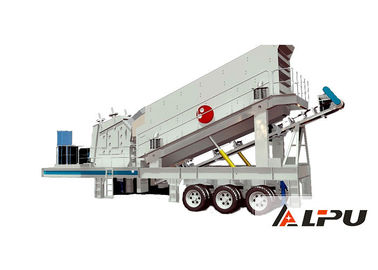 China High Efficiency Hard Stone Mobile Crushing Plant , Impact Crusher Station factory