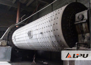 China Large Capacity Industrial Grinding Mill , Super Fine Horizontal Ball Mill High Speed factory