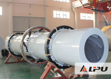 China High Efficiency Industrial Drying Equipment , Silica Sand Rotary Dryer distributor