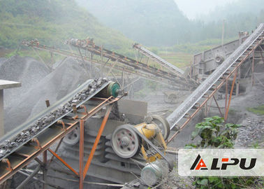 China Large Capacity Complete Stone Crushing Plant for Aggregate , Stone Jaw Crusher factory