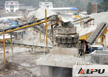 China 200TPH Quarry Stone Crushing Plant With Uniform Product Size / 200m Belt Conveyor factory