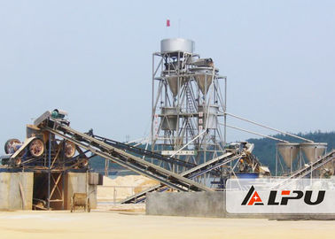 China Jaw Crusher Stone / Granite Crushing Plant For Artificial Sand Making 30 - 800 TPH factory