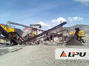China Gravel Production Line / Stone Crushing Equipment PF1315 For Limestone Basalt factory