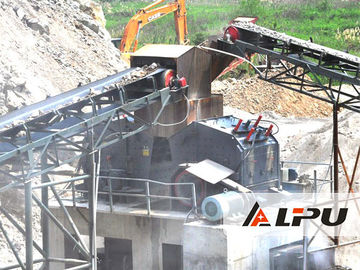 China 600kw Screening Stone Crusher Machine For Building Material factory