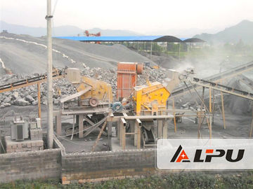 China River Stone Crusher Machine , Cobble / Limestone Aggregate Crushing Plant 450t/h factory