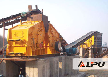 China 350kw Impact Stone Crushing & Screening Plant / Stone Crushing Line distributor