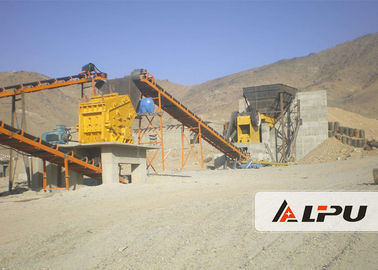 China High Crushing Ratio Stone Crushing Plant , Stone Jaw Crusher Machine 200t/h distributor