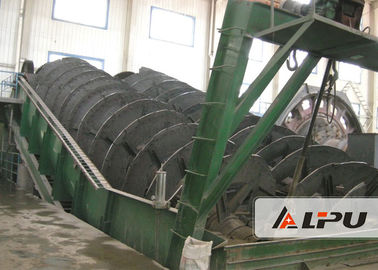 China Spiral Dia 1800mm Screw Sand Cleaning Machine For Ore Separation Plant distributor