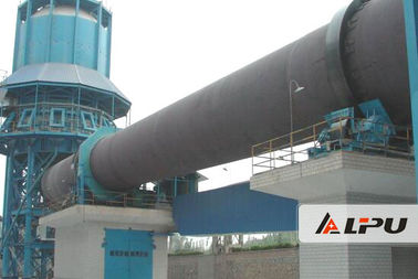China Metallurgy Chemical Industry Rotary Kiln Dryer For Calcining Cement Clinker distributor