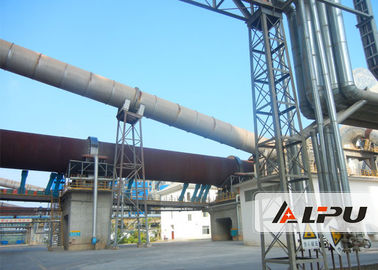 China Model 2.5×50 Low Heat Consumption Dolomite Rotating Kiln With High Productivity distributor