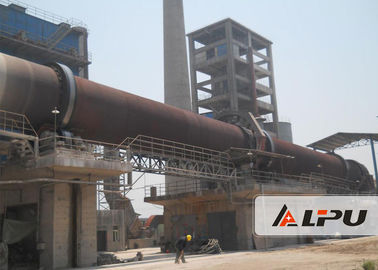 China Environmental Protection Industrial Rotary Calciner Cement Kiln 0.23-2.26r/min distributor