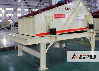 China Vibration Frequency 1450 R/Min Sand Dewatering Screen In Sand Washing Plant distributor