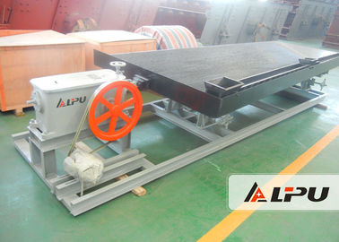 China Gravity Separation Ore Dressing Plant Gold Shaking Table 0.074-0.5mm distributor