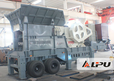 China Wheel Type Mobile Crushing  and Screening Plant Used for Stone Crushing distributor