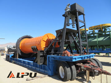 China Large Capacity Portable Ore Mineral Grinding Mining Ball Mill Φ1500×3000 distributor