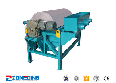 China Iron Ore Dressing Equipment / Wet Drum Magnetic Separator For Coal , Cement distributor