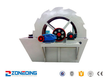 China 11kw Ore Washing Plant / Mobile Silica Sand Washing Plant 40-140t/H Capacity distributor
