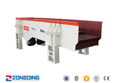 China ZSW Vibrating Feeder Coal Vibrating Hopper Feeder For Metallurgy / Coal distributor