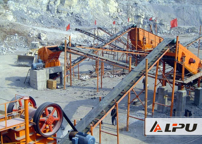100t/h Stone Crushing And Screening Plant In Ore Dressing Industry